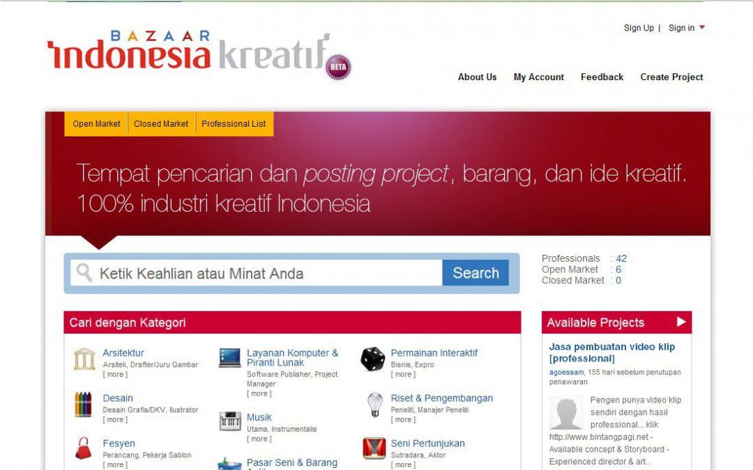 Bazaar Indonesia Kreatif