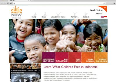 Child Health Now by World Vision Indonesia