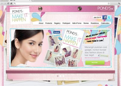 Pond's Make It Happen