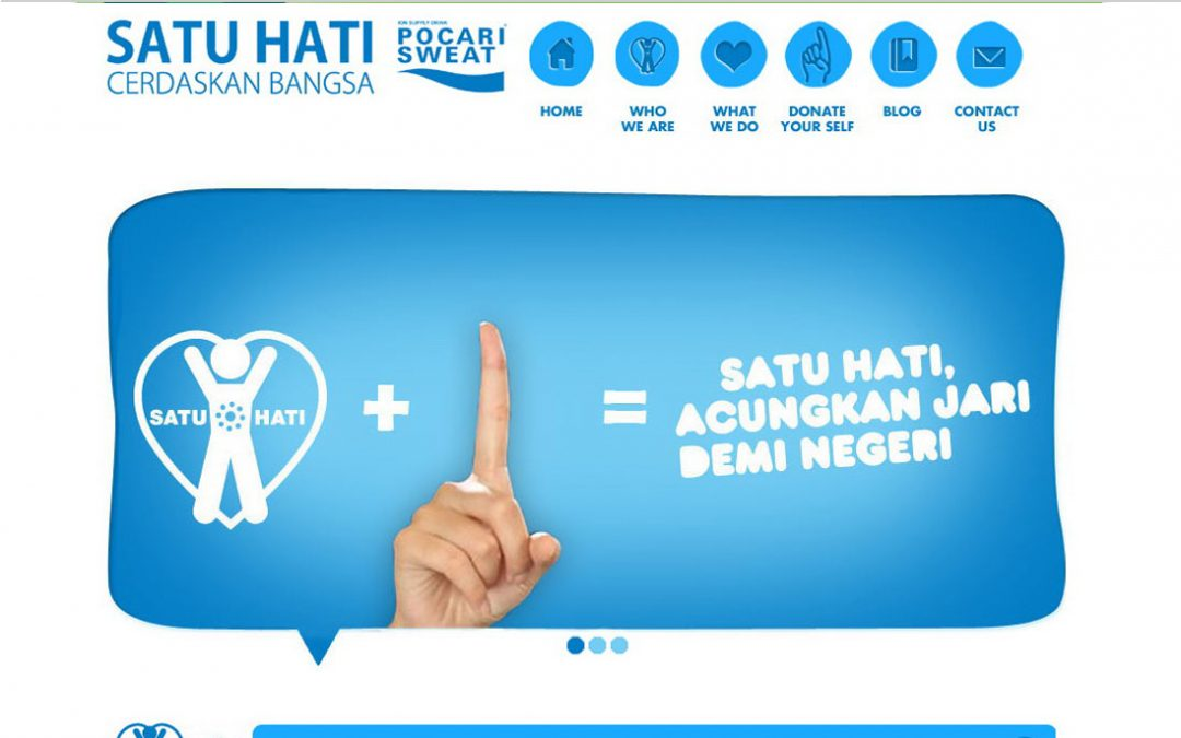 Satu Hati by Pocari Sweat