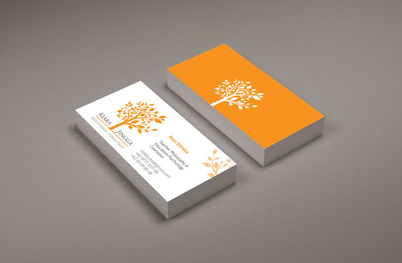 Kiara Jingga Corporate Identity