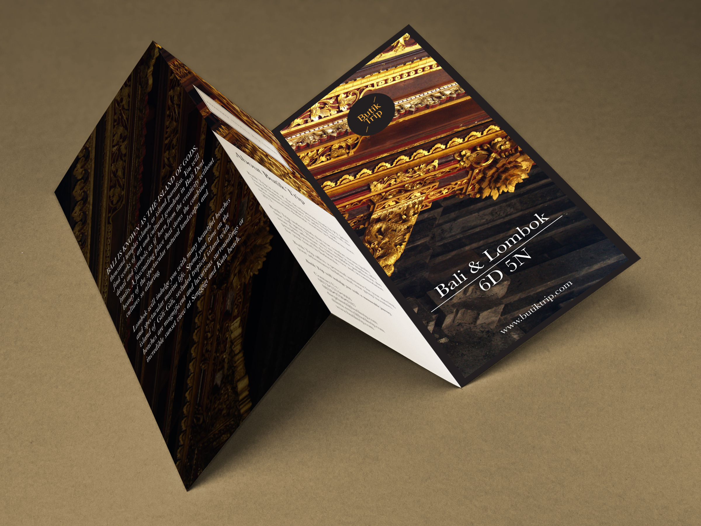Butik Trip Brochure