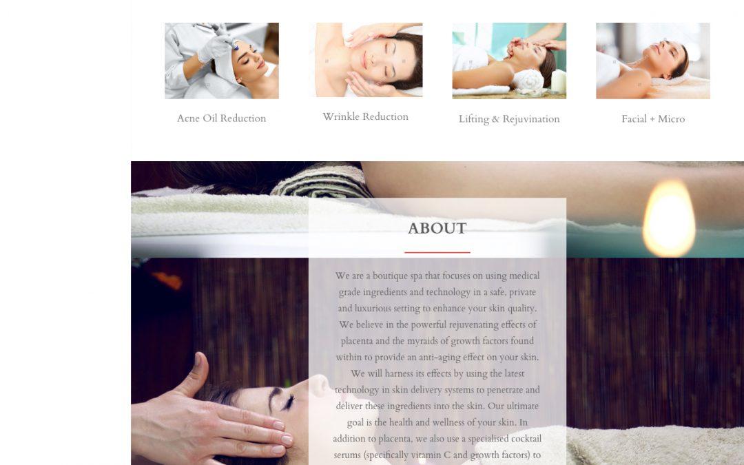 Rania Med Spa website